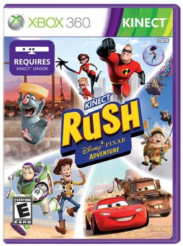 Microsoft Kinect Rush: A Disney Pixar Adventure, Xbox 360, GE