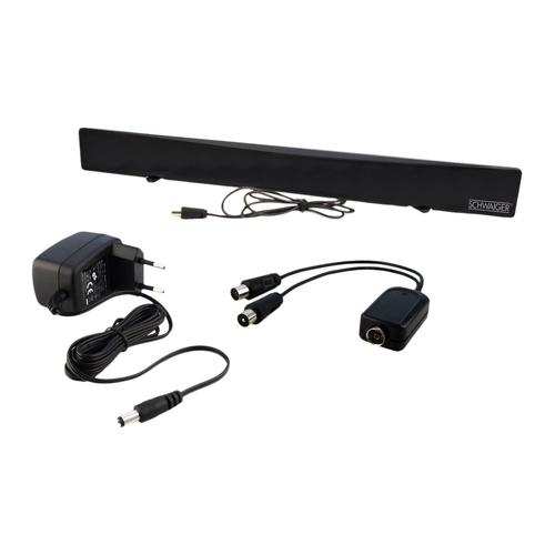 Schwaiger DTA1000 011 TV-Antennen (Schwarz)