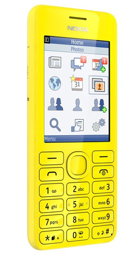 Nokia 206 (Gelb)