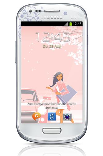 Samsung Galaxy S III mini GT-I8190 8GB Weiß (Weiß)