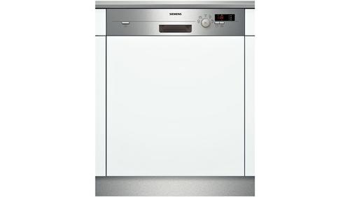 Siemens SN55D502EU Spülmaschine (Silber, Weiß)