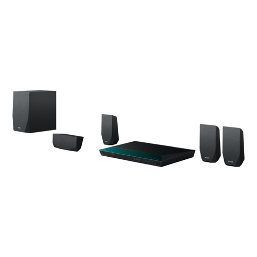 Sony BDV-E2100 3D Blu-ray Home Entertainment-System (Schwarz)