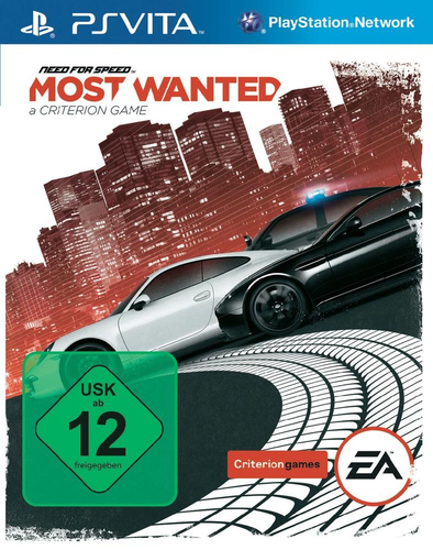 Electronic Arts Need for Speed: Most Wanted, PSV