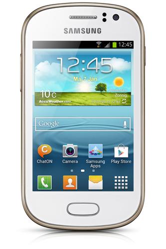 Samsung Galaxy Fame GT-S6810 4GB Weiß (Weiß)