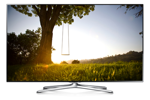 """Samsung UE55F6500SS 55"""" Full HD 3D Kompatibilität Smart-TV WLAN Silber (Silber)"""