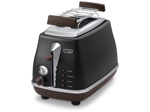 DeLonghi CTOV 2103.BK Toaster (Schwarz)