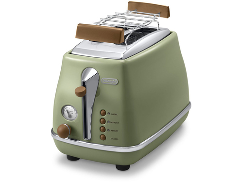 DeLonghi CTOV 2103.GR Toaster (Grün)
