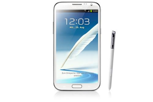 Samsung Galaxy Note II GT-N7105 16GB 4G Grau (Grau)