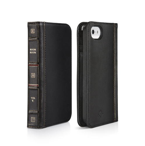 TwelveSouth BookBook iPhone 5 (Schwarz)