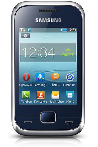 """Samsung GT-C3310 2.8"""" 90g Blau (Blau)"""