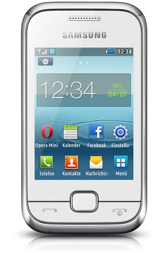 """Samsung GT-C3310 2.8"""" 90g Weiß (Weiß)"""