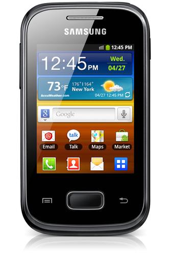 Samsung Galaxy Pocket Plus GT-S5301 4GB Schwarz (Schwarz)