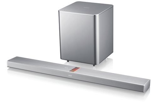 Samsung HW-F751 Soundbar-Lautsprecher (Silber)