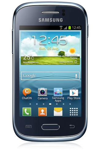 Samsung Galaxy Young GT-S6310 4GB Blau (Blau)