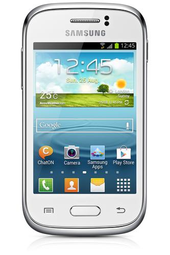 Samsung Galaxy Young GT-S6310 4GB Weiß (Weiß)