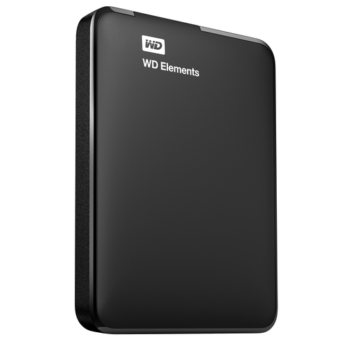 Western Digital 2TB Elements (Schwarz)