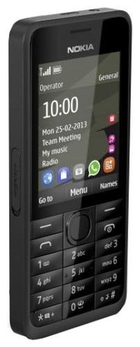 Nokia 301 (Schwarz)
