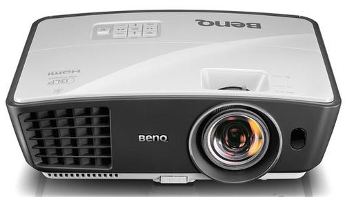 Benq W770ST (Schwarz, Weiß)