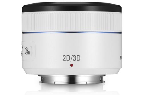 Samsung 45mm F1.8 [T6] 2D / 3D (Weiß)