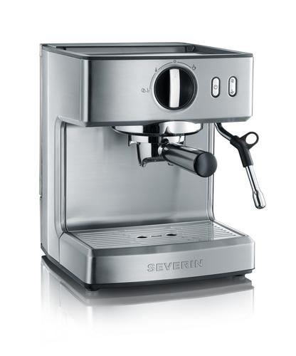 Severin KA 5990 Kaffeemaschine (Schwarz, Edelstahl)