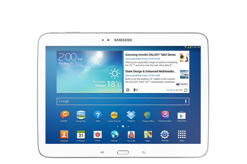 Samsung Galaxy Tab 3 10.1 16GB 3G 4G Weiß (Weiß)