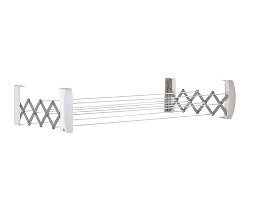 LEIFHEIT Teleclip 60 Wand-Rack Weiß (Weiß)
