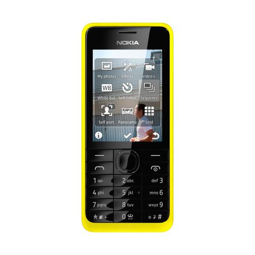 Nokia 301 Dual SIM (Gelb)