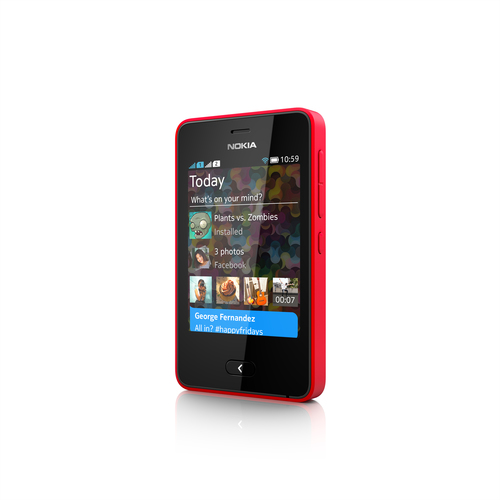 Nokia Asha 501 Rot (Rot)