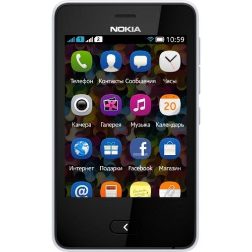Nokia Asha 501 Weiß (Weiß)