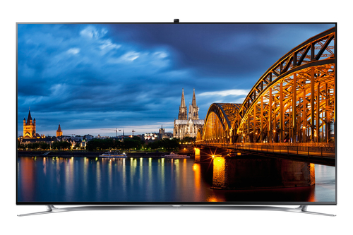 """Samsung UE-65 F 8090 65"""" Full HD 3D Kompatibilität Smart-TV WLAN Schwarz (Schwarz)"""
