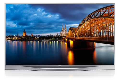 "Samsung UE55F8590SL 55"" Full HD 3D Kompatibilität Smart-TV WLAN Silber (Silber)"