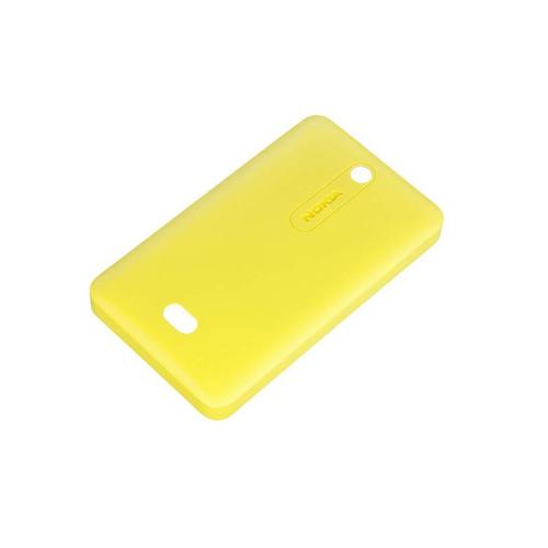 Nokia 02737J7 Handy-Schutzhülle (Gelb)