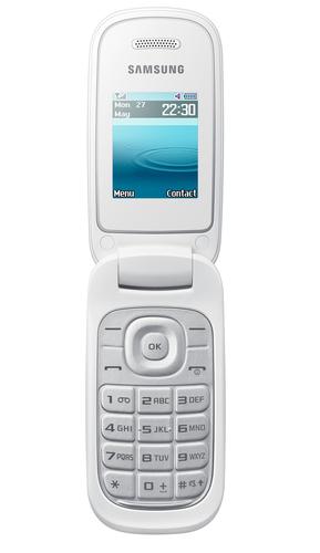 """Samsung E1270 1.8"""" 82.9g Weiß (Weiß)"""