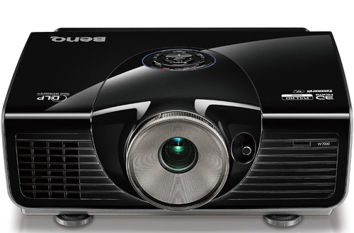 Benq W7500 Beamer/Projektor (Schwarz)