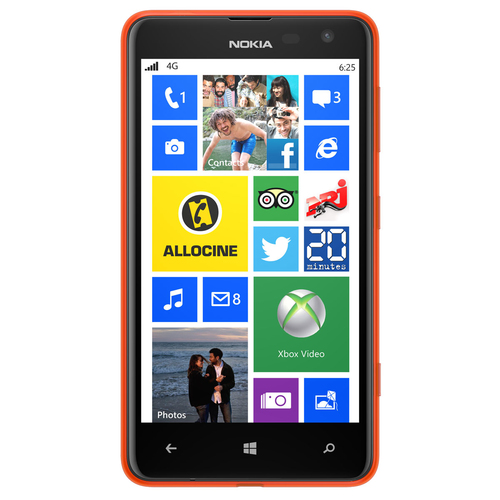 Nokia Lumia 625 8GB 4G Orange (Orange)