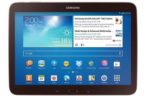 Samsung Galaxy Tab 3 10.1 16GB Braun (Braun)