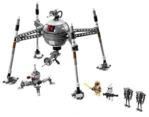 Lego Star Wars - 75016 Homing Spider Droid (Mehrfarbig)