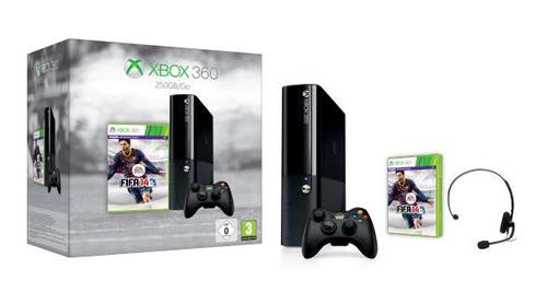 Microsoft Xbox 360 250GB FIFA 14 (Schwarz)