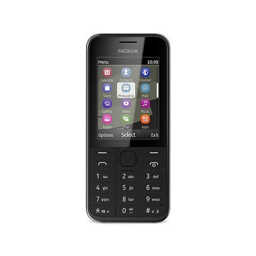 Nokia 208 (Schwarz)