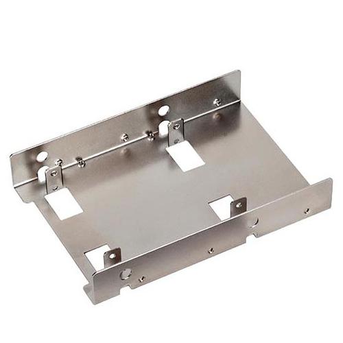 Silverstone SDP08 3.5Zoll Carrier panel Metallisch (Metallisch)