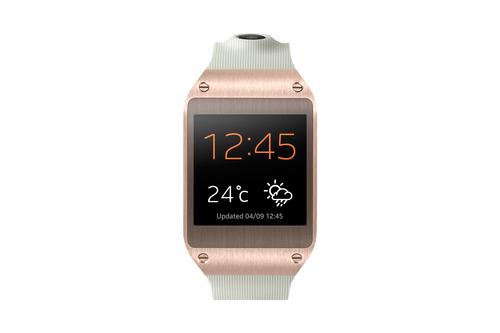 Samsung Galaxy Gear (Weiß, Gold)