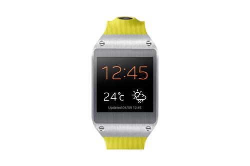 Samsung Galaxy Gear (Grün, Edelstahl)