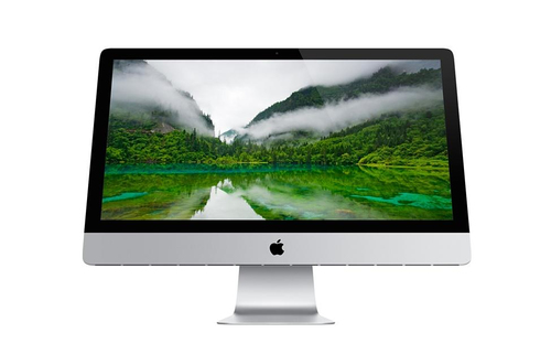 "Apple 27"" (Silber)"