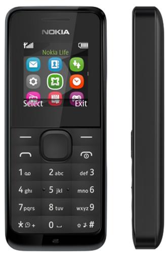 Nokia 105 (Schwarz)