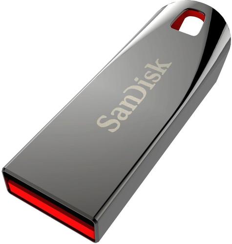 Sandisk Cruzer Force 64GB USB 2.0 Metallisch USB-Stick (Metallisch)