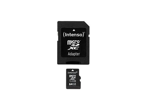 Intenso 64GB MicroSDHC (Schwarz)
