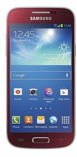 Samsung Galaxy S4 Mini GT-I9195 8GB 4G Rot (Rot)