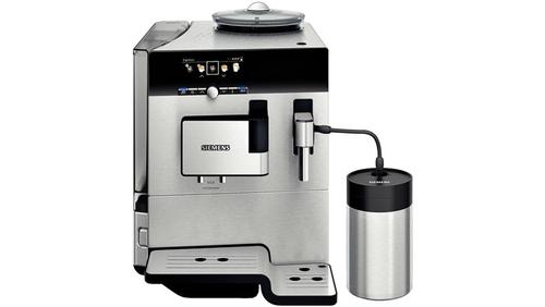 Siemens TE809F01DE Kaffeemaschine (Schwarz, Edelstahl)