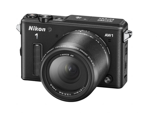 Nikon 1 AW1 + 1 NIKKOR 11-27.5mm (Schwarz)