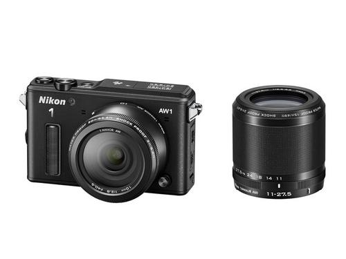 Nikon 1 AW1 + 1 NIKKOR 11-27.5mm + 1 NIKKOR 10mm (Schwarz)